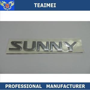 Quality Black Chrome Original Label Sticker Custom Car Emblems For Nissan for sale