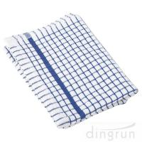China 100% Cotton Kitchen Tea Towels , Azo Free Housework Kitchen Cleaning Cloth 50*70cm on sale