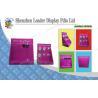 Retailing Bracelt Cardboard Counter Display with 6 Plastic Peg Hooks