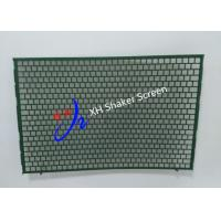 China FLC 2000 Flat Type Shale Shaker Screen With Notch for Mud Cleaner wholesale