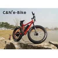 China 1000W Power Electric Fat Tire Sand Bike With Electric Motor Environment Friendly wholesale