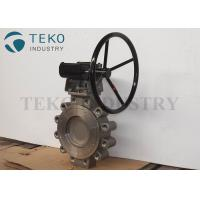 China WCB High Performance Butterfly Valves Long Life Span Two Offset Imported Design on sale