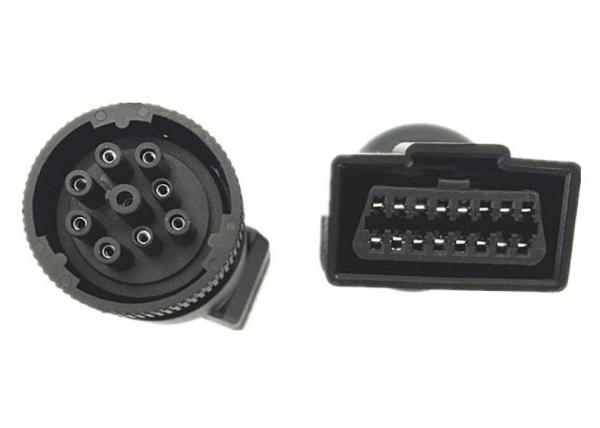 Quality Customized Type 1 J1939 Adapter / OBDII Obd2 16 Pin Female Connector for sale
