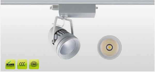 wall mounted modern led dimmable track lighting for galaxy museum