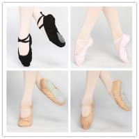 China Dttrol leather canvas ballet shoes slippers wholesale