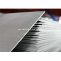 China Ti 6Al7Nb medical titanium Sheet With ASTM F 67 And ISO 5832-2 wholesale