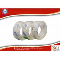 China 12mm Clear Adhesive BOPP Sticky Stationery Tape For Office & School Use wholesale