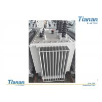 China Oil Type Three Phase Power Transformers Full Sealed With Low Temperature Noise wholesale