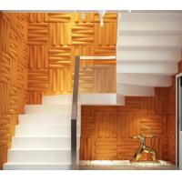 China Removable Bedroom / Bathroom Wall Sticker 3D Decorative Wall Panels Sound-absorbing wholesale