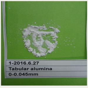 China Making firebrick or prefabricated parts TA/tabular alumina /corundum on sale