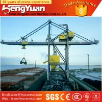 Widely used portal crane, two jaws electric grab Ship-unloader