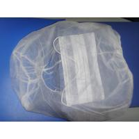 China Soft Medical Disposable Hair Caps Hood Astronaut Caps PP Non Woven Material wholesale
