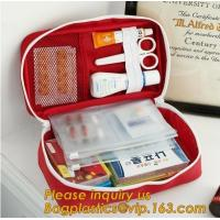 China EVA First Aid Kit Packed with hospital grade medical supplies for ,portable car travel military camping survival emergen on sale