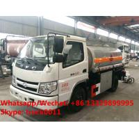 China China wholesale cheapest price mini 2,000Liters Shifeng Brand 4*2 LHD fuel tank truck, smallest oil tank vehicle wholesale