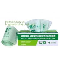 China Hospital Medical Custom Printed Plastic Scented Compostable Bio Degradable Garbage Bags With Logo,bagease bagplastics wholesale