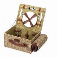 China Picnic Basket, Made of Wicker wholesale