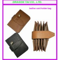 China leather card holder, card wallet manufactory wholesale