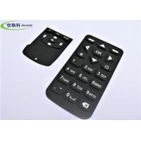 China Waterproof Numeric Keypad Keyboard , Black Silicon Wireless Keyboard Multi Color wholesale