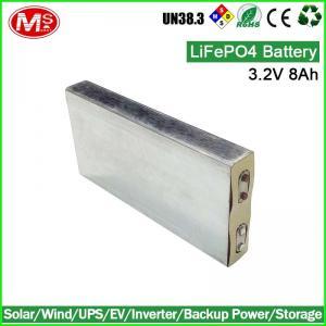 China battery supplier lifepo4 battery cell 3.2v 8Ah