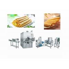 China Energy Saving Egg Roll Forming Machine / Pie Dough Rolling Machine wholesale