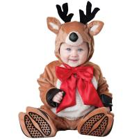 China Christmas Elk Infant Baby Costumes / Toddler Boy Christmas Outfits wholesale