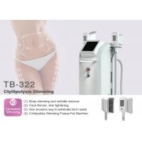 China Vertical 1800W 4 Handles Body and Face Fat Freezing / Weight Loss Cryolipolysis Machine on sale