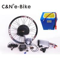 China Electric Bike Hub Motor Conversion Kit With Batteries And Multifunction TFT Display wholesale