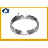 China Carbon Steel Extension Spring , White Zinc Plated Large Extension Springs wholesale