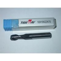 China Durable Micro - Grain TCT Carbide End Mill with two Flute Flat nose, Short shank wholesale