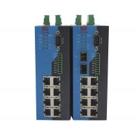 China Wall Mounted Serial Port Modbus Managed Ethernet Switch Serial To Ethernet Device on sale