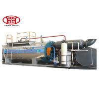 China Fire Tube Oil Steam Boiler , Industrial 1 Ton Gas Heating Boiler wholesale