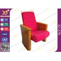 China Customized Fabric Auditorium Theatre Seating For Auditorium / Lecture Hall Area wholesale