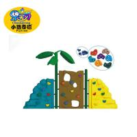 China Custom Durable Plastic Kids Rock Climbing Wall 5 - 12 Years Age Group wholesale