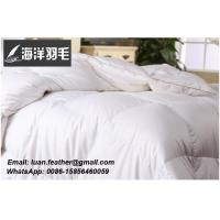 Luxury White Goose Down Duvet/ Goose Down Quilt/ Feather and Down Comforter king queen twin