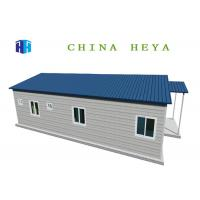 Commercial Factory Built Homes , Prefabricated Eco Homes 3 Bedroom 98 Square Meters