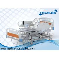 Three Function Electric Hospital Bed For Elderly With Chair Position