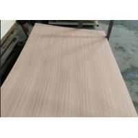 China Eco Friendly Fancy Plywood 1220x2440mm Size P/S Natural Sapele Face / Back wholesale