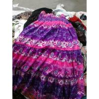 Buy cheap summer used clothing ,ladies silk dress from wholesalers