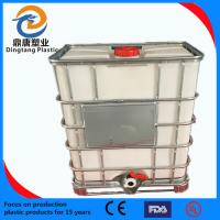 China offer 1000L PE Tons of barrel with brandreth wholesale