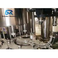 China 8 Filling Heads Water Bottling Machine / Plastic Bottle Packaging Machine on sale