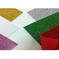 China Solid Color Adhesive Glitter EVA Foam Sheet High Density For Handcraft And Decoration on sale
