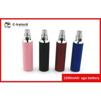 Big Capacity Portable Ego Cigarette Battery 1500mah Colorful Batteries