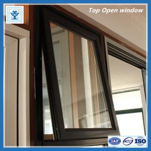 China Quality single glazed aluminium top hung window with economic price on sale