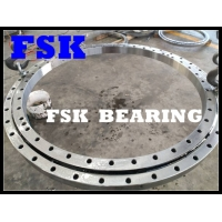 China VSU200844 Four Point Contact Bearing Without Gear Teeth , Lip Seals On Both Sides wholesale