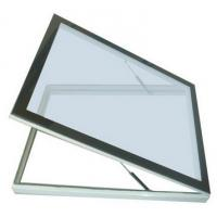 Quality china Residential flat roof electric skylight window Aluminum frame with glass for sale
