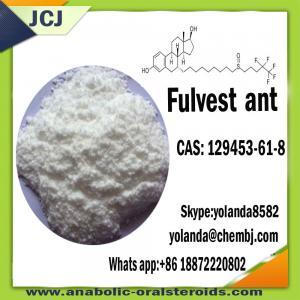 China Hormona esteroide Faslodex CAS 129453-61-8 da anti hormona estrogênica wholesale