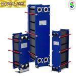 China la nueva marca se relaciona con el tipo de placa de Sondex S8 cambiador de calor con vapor con el agua wholesale