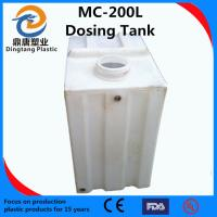 China Food grade LLDPE Rectangular Chemical tank for pump wholesale