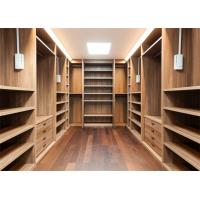 China Furniture Walk In Closet Wardrobe MDF Material Melamine Easy Installation wholesale
