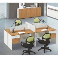 China modern 4 seats office workstation furniture in warehouse in Foshan wholesale